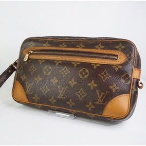 •Auth Louis Vuitton Marly Dragonne GM•